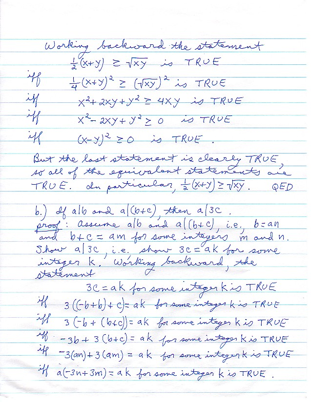 math 108 homework and exam solutions